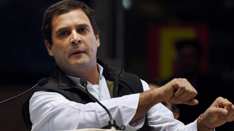 Rahul Gandhi Will Launch his Three-day Gujarat Campaign Today