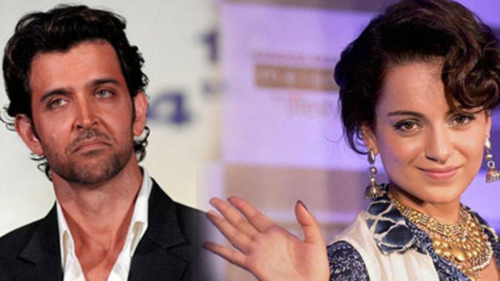 Hrithik Roshan and Kangana Ranaut controversy