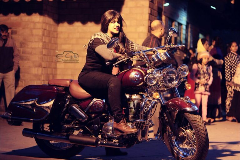 Cross country Woman biker Sana Iqbal dies in car accident