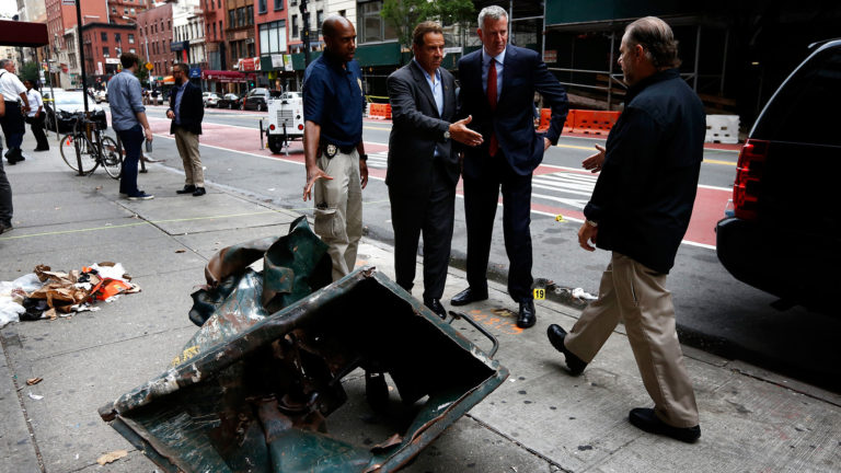 New York City Terror Attack – Truck Rams Cyclists in Manhattan
