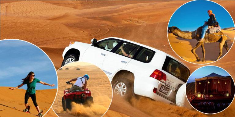 Morning Desert Safari Dubai Makes An Unforgettable Day
