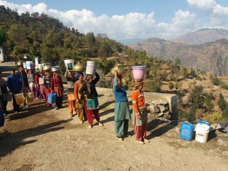 Water Crisis in Shimla
