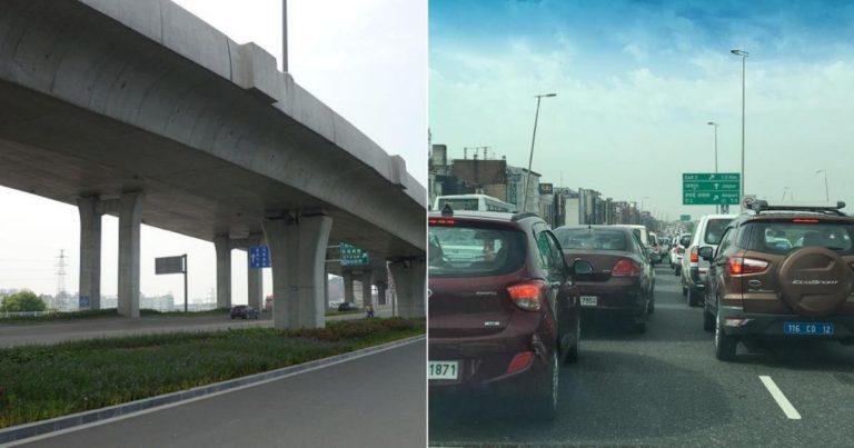 Non-Stop Travel Between Gurgaon and Delhi Via Signal free Highway?