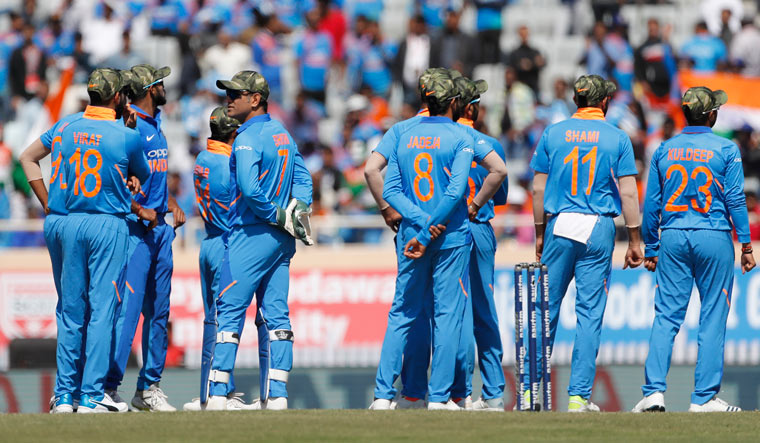 Team India Pays Tribute to Indian Armed Forces With Wearing the Camouflage Caps