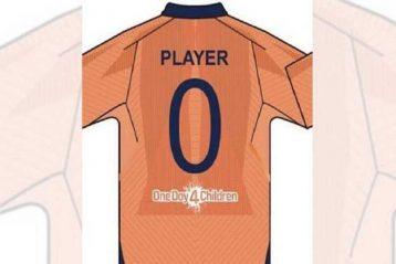 India Orange jersey