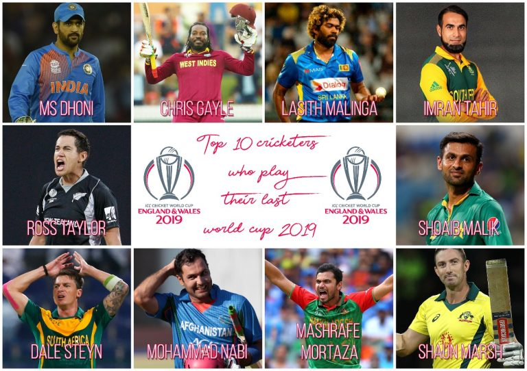 Top 10 Cricketers Who May Play Their Last World Cup 2019