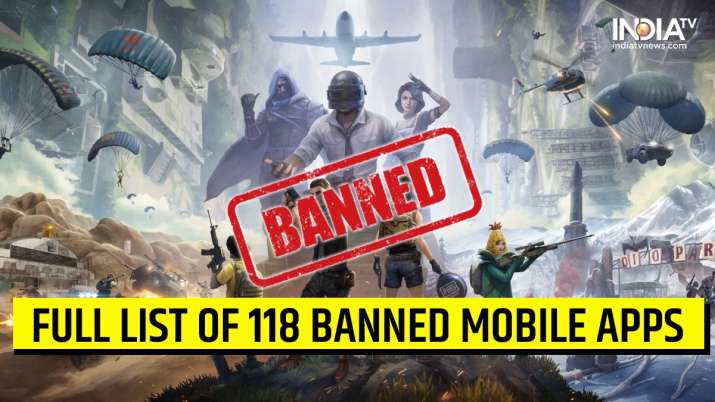 Indian Government Decided to Banned PUBG and 118 Other Applications