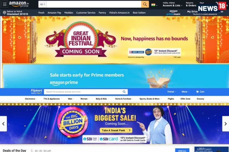Amazon Great India Festival and Flipkart Big Billion Sale to be out soon