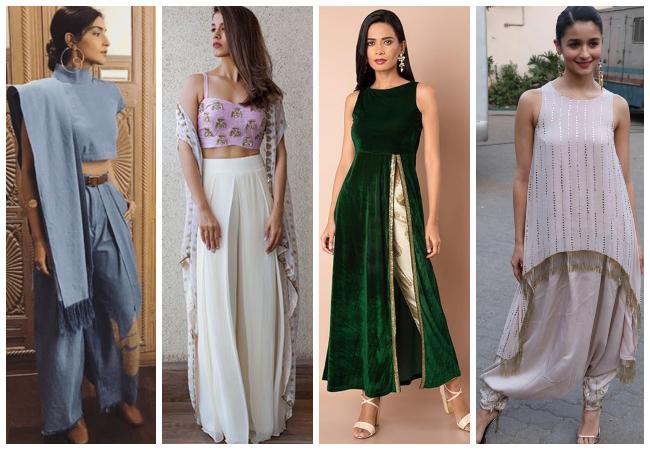 Women's Printed Kurta And Salwar Suit Design Ideas