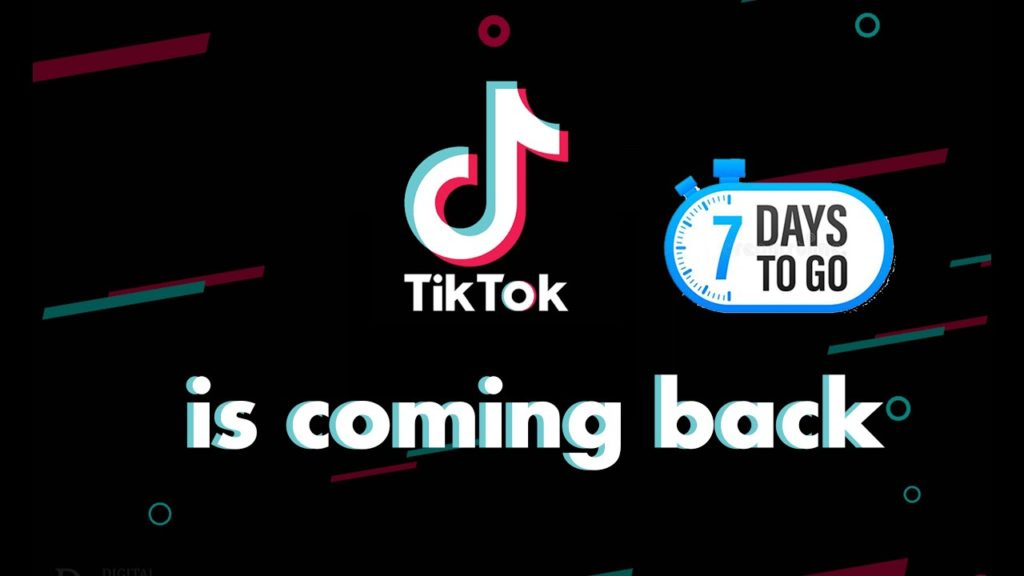AFTER PUBG UNBAN TIKTOK HOPING TO GET A RELAUNCH IN INDIA
