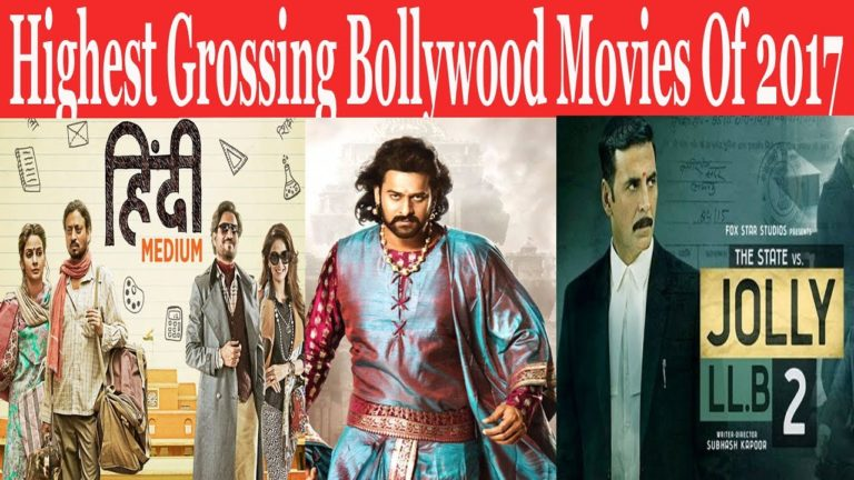 Highest grossing Bollywood movies in 2017