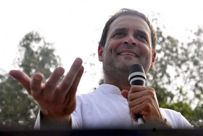 Rahul Gandhi attacks PM Modi, asked how China managed to widened road in Doklam