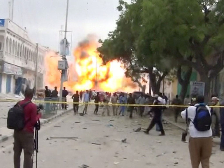 Deadliest single attack in Somalia history, 276 killed, death toll could rise