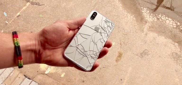 Don't Drop Me!  Have a Look at First Drop iphone X, and it is Entirely Smashed
