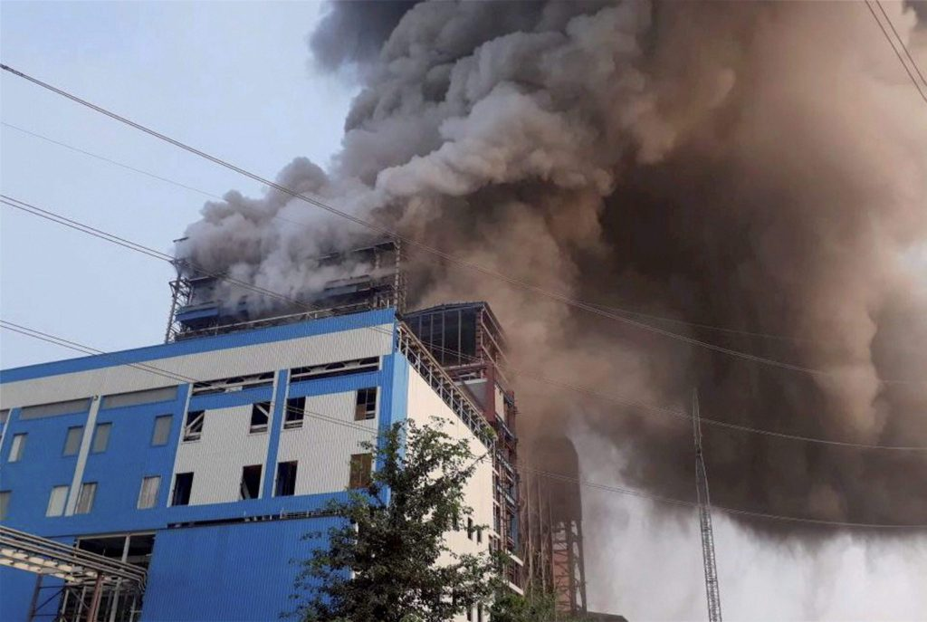 NTPC Boiler Explosion
