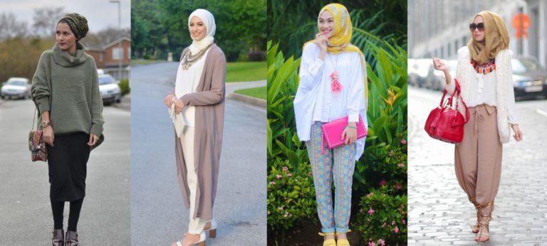 Fashionable yet Modest Muslim Dresses for Women