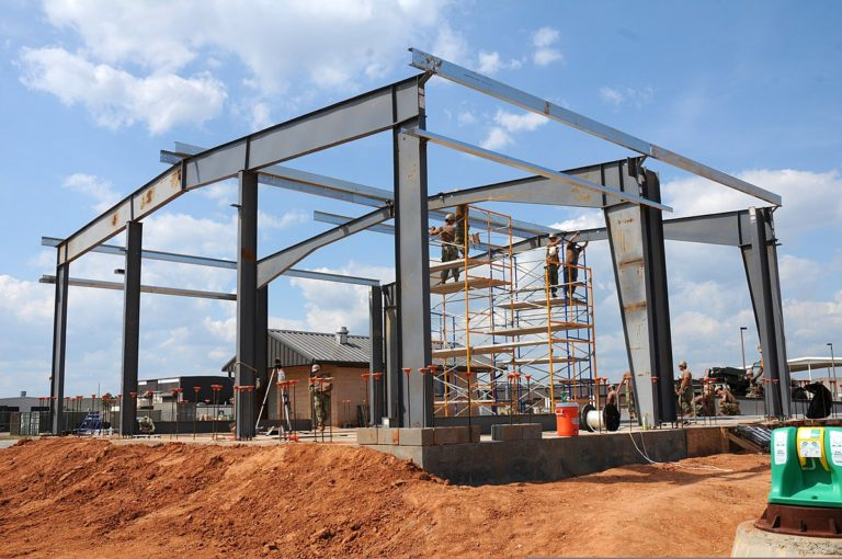 Erection Framework Of Steel Structure Companies-Charging Works
