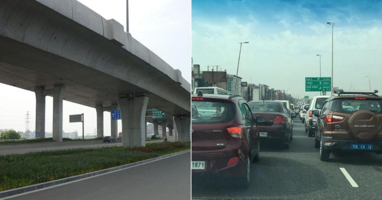 Non-Stop Travel Between Gurgaon and Delhi Via Signal free Highway?