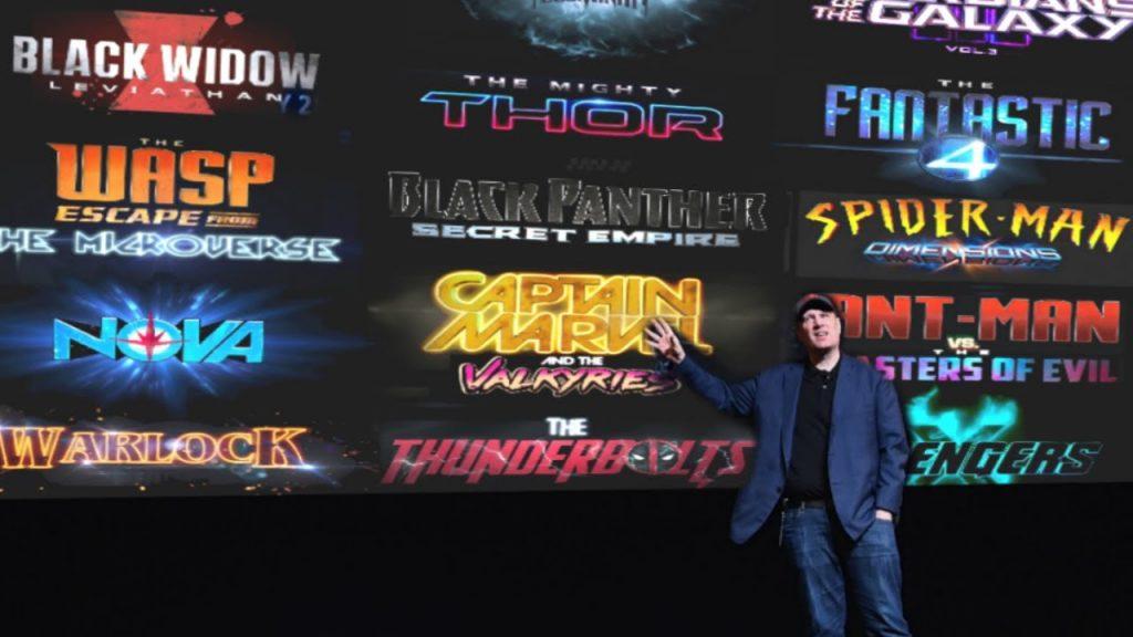 Marvel's Phase 4 plans