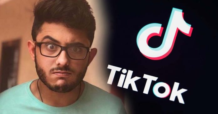 "Carry Minati's latest video ""YouTubers Vs Tiktokers"" removed for violation of terms"