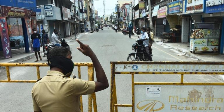 Palaniswami says that Chennai is going to shut down again for 12 days