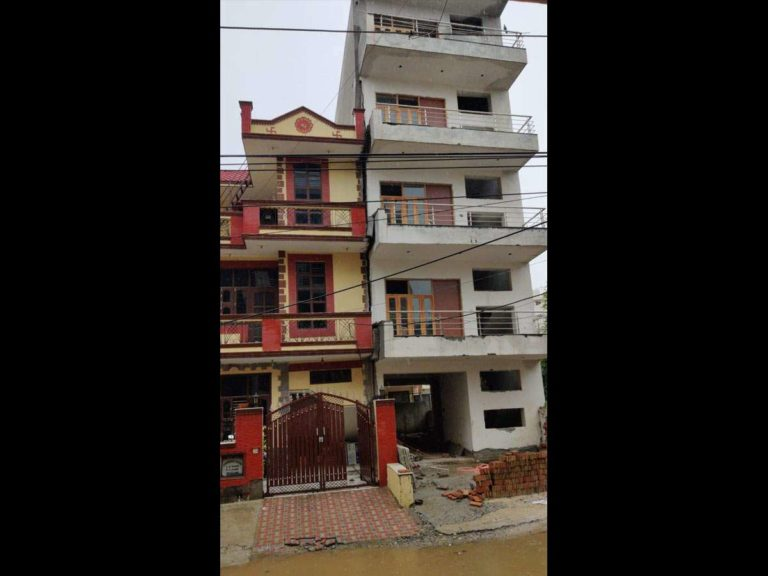 Gurugram Building tilt after heavy rainfall, residents moved out