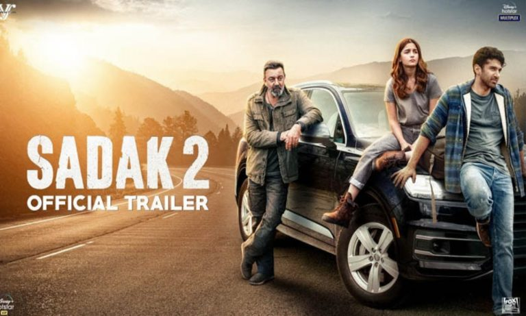 Sadak 2- The trailer of Sadak 2 is the most disliked YouTube video in India