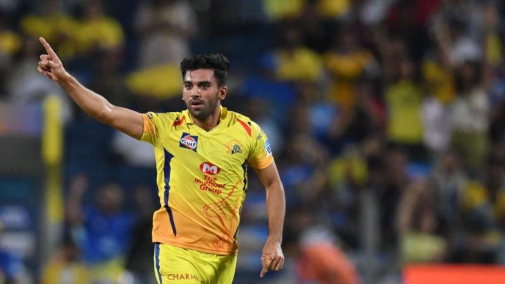 Deepak chahar tested corona positive