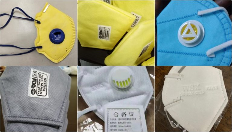 Government removes restrictions on the export of N-95 FFP2 masks