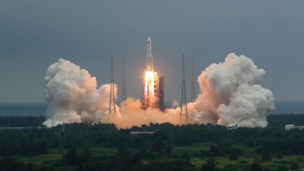 Why A Giant Piece Of Chinese Rocket Is Set To Hit Earth