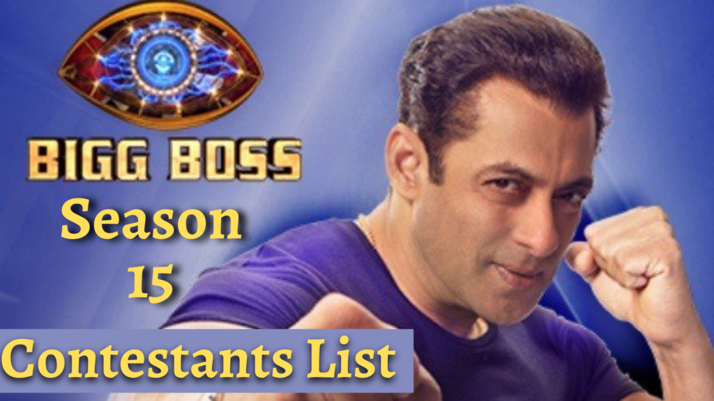 BigBoss 15: Here's a List of the Confirmed Contestants